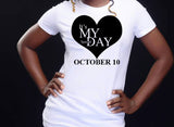 Special day tee (October)