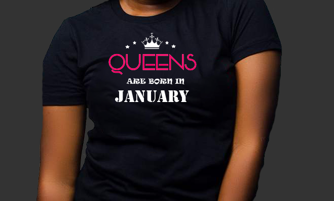 Queens are born in January (Women Favorite Tee Extra Soft )
