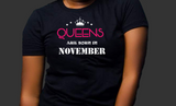 Queens are born in November (Women Favorite Tee Extra Soft )