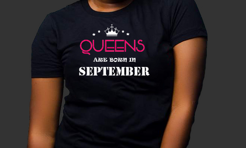 Queens are born in September (Women Favorite Tee Extra Soft )