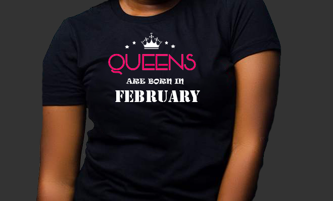 Queens are born in February (Women Favorite Tee Extra Soft )