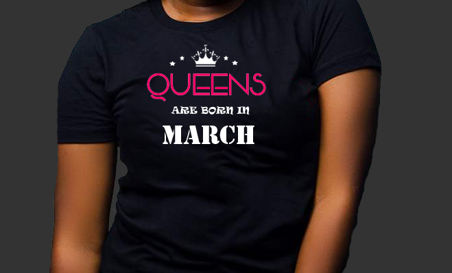 Queens are born in March (Women Favorite Tee Extra Soft )