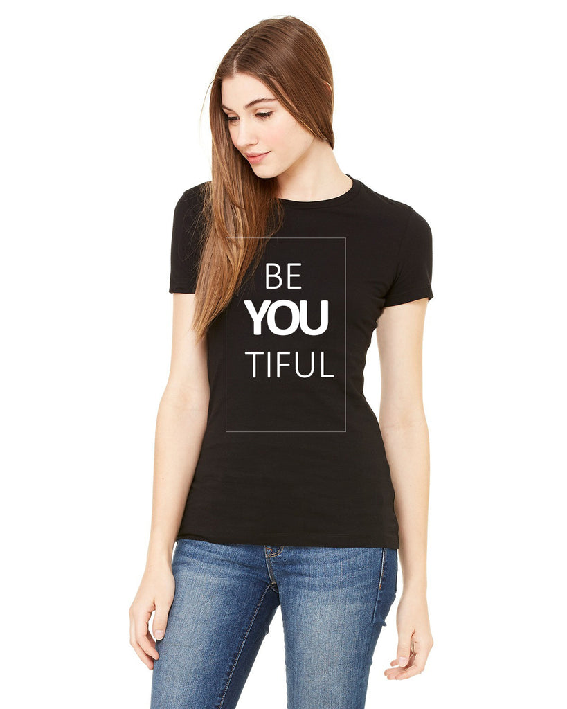 Be You Tiful  (Women Favorite Tee Extra Soft)
