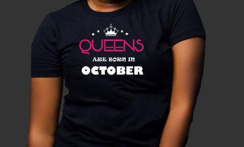 Queens are born in October (Women Favorite Tee Extra Soft )