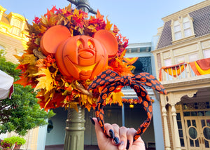 Pumpkins Knotted Bow