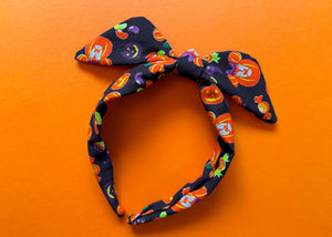 Pumpkin Mouse Knotted Bow