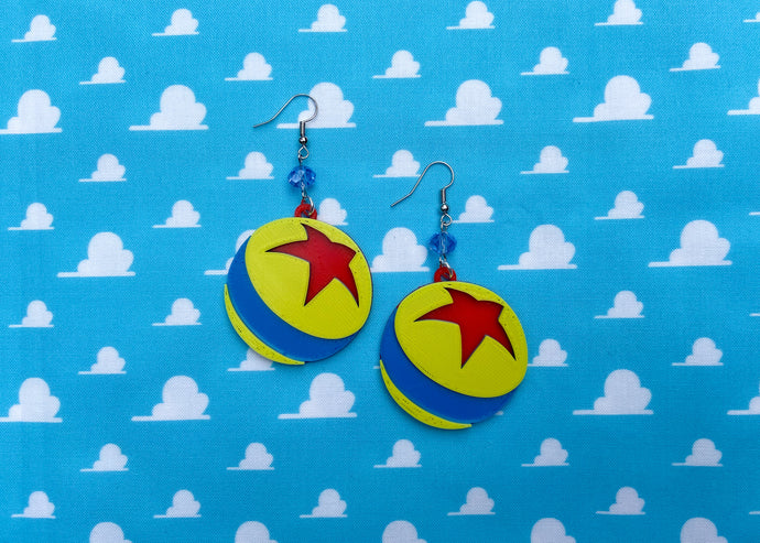 Toy Ball Earrings