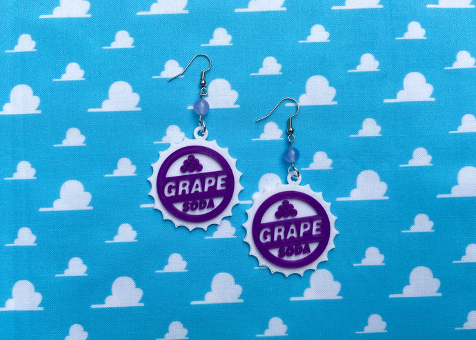 Grape Soda Earrings