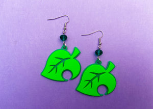 AC Leaf Earrings
