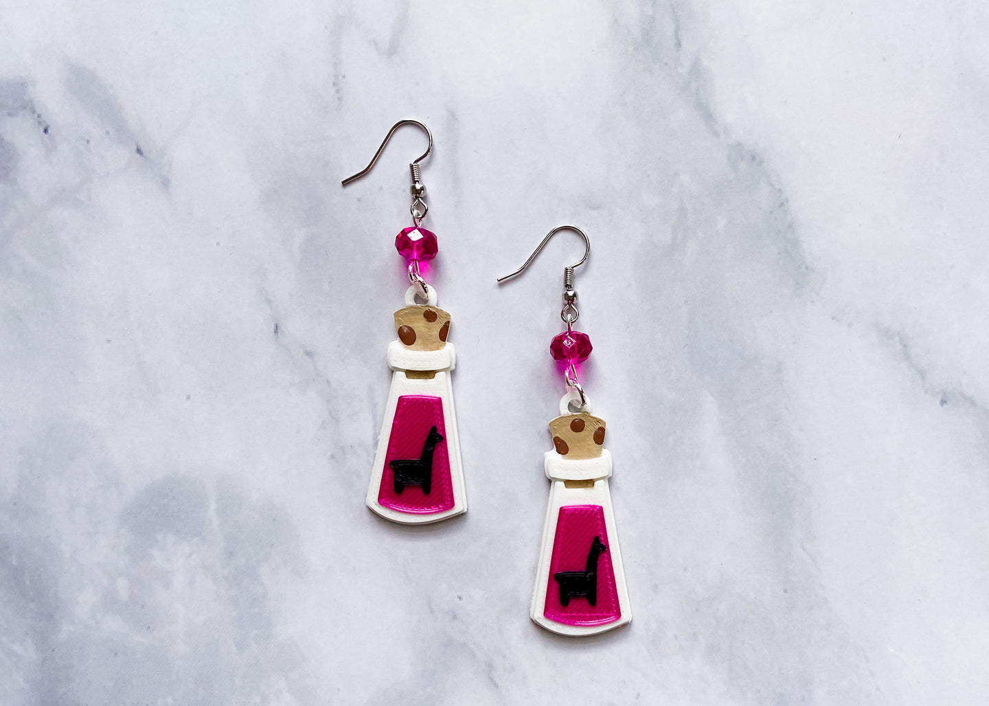 Llama Poison Earrings