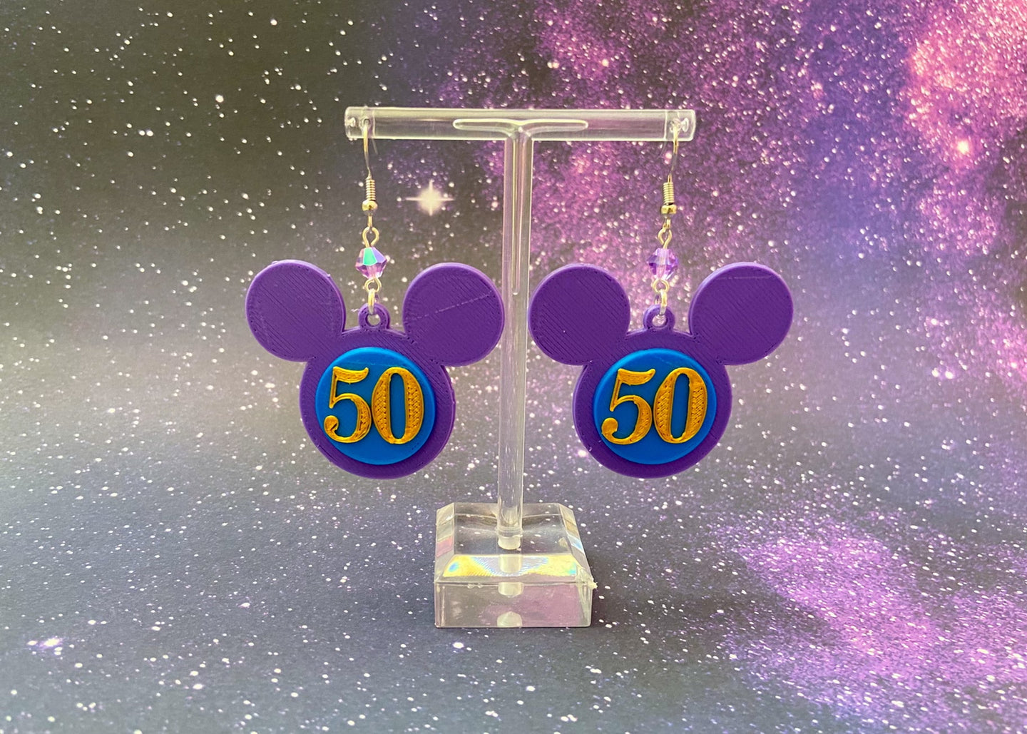 50th Anniversary Earrings