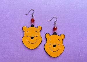 Silly Bear Earrings