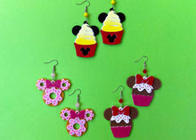 Load image into Gallery viewer, Dole Whip Mouse Earrings
