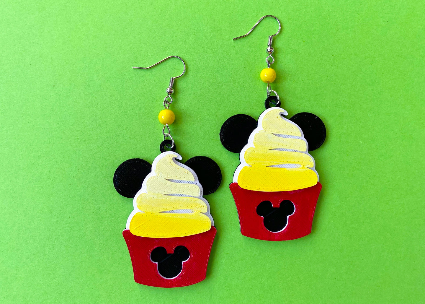 Dole Whip Mouse Earrings
