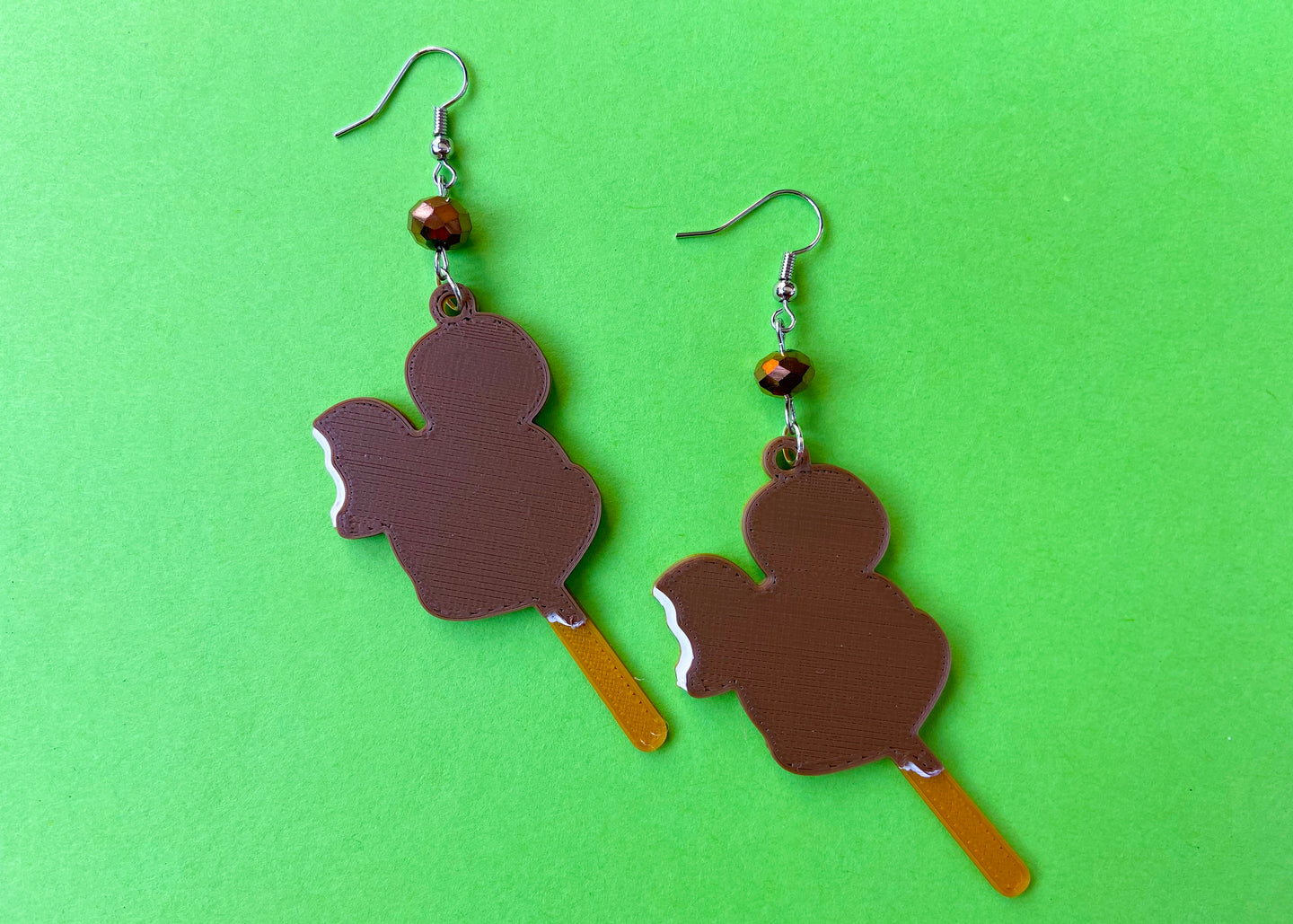 Mouse Ice Cream Bar Earrings