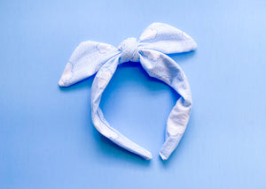 Clouds Knotted Bow
