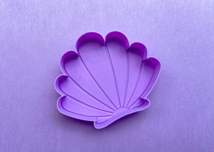 Lavender Mermaid Shell Jewelry Dish