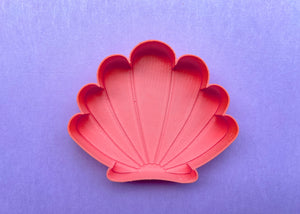 Coral Mermaid Shell Jewelry Dish