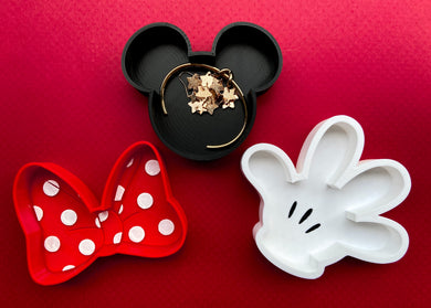 Classic Mouse 3-Piece Jewelry Dish Set