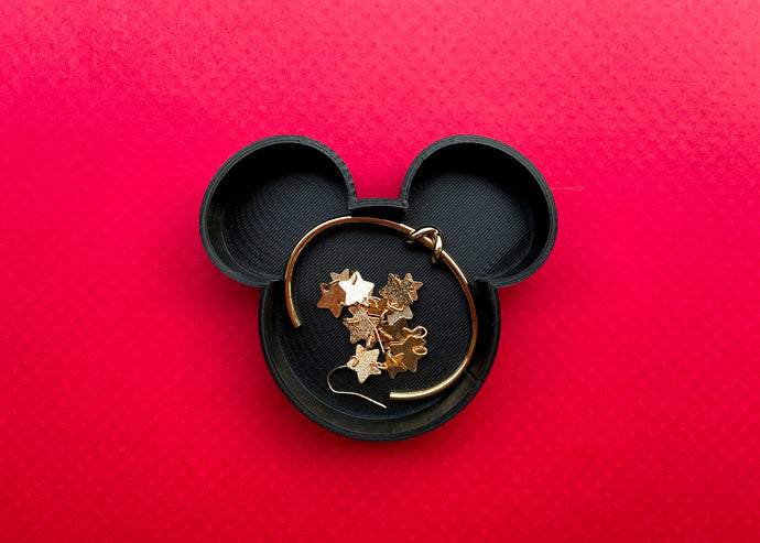 Black Mouse Jewelry Dish