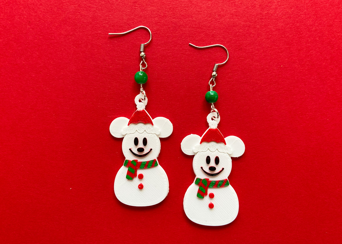 SnowMouse Earrings