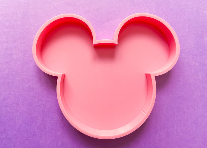 Large Pink Mouse Jewelry Dish