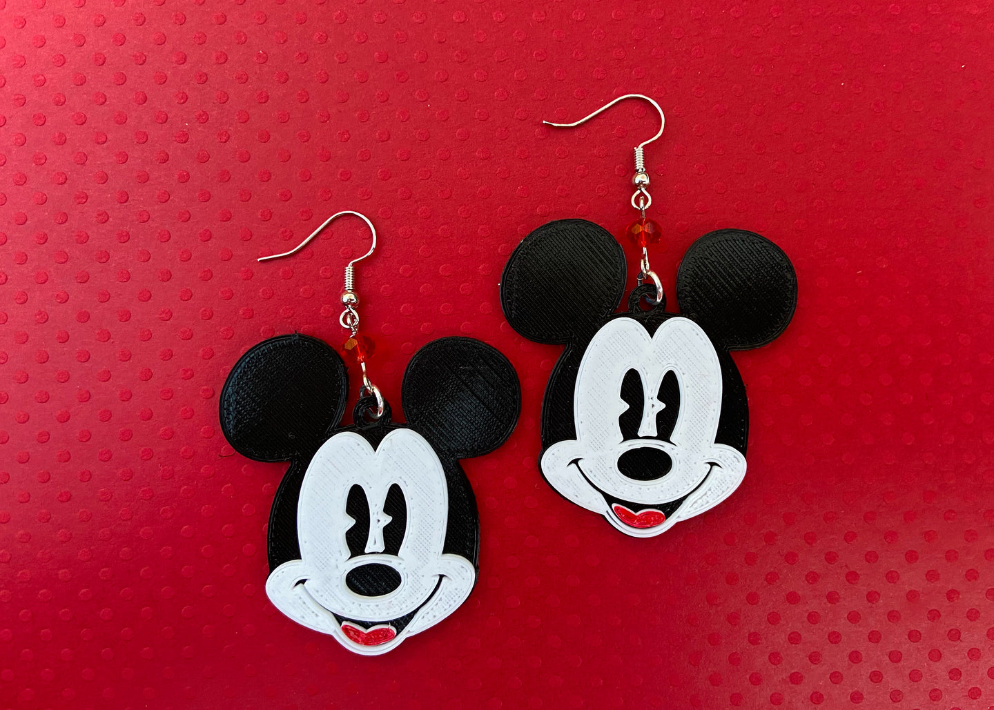 Classic Mouse Earrings