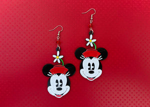 Classic Ms. Mouse Earrings