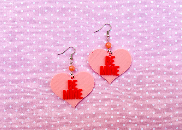 Pink Be Mine Earrings