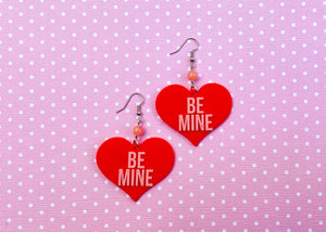 Red Be Mine Earrings
