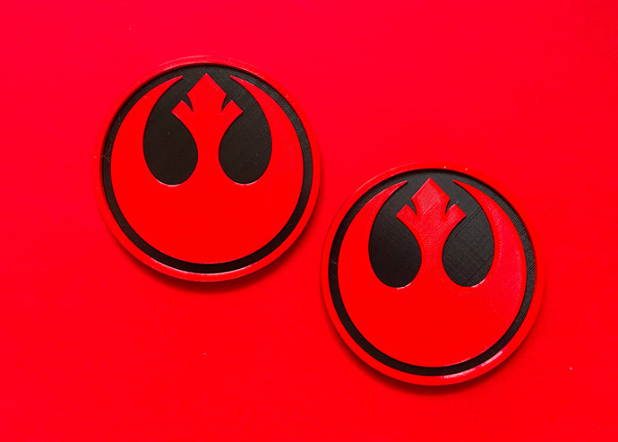 Rebel Coasters (2 Pack)