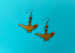 Genie Lamp Earrings