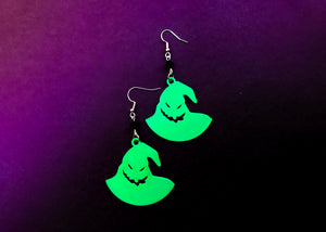 Glow in the Dark Boogie Man Earrings