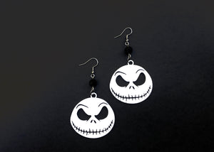 Pumpkin King Earrings