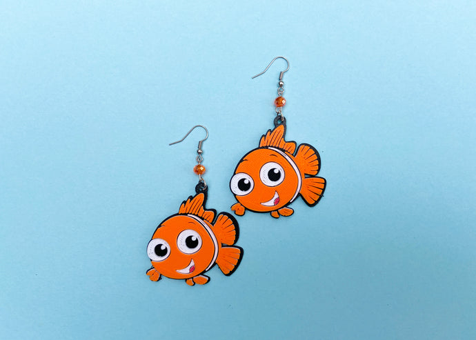 Clownfish Earrings