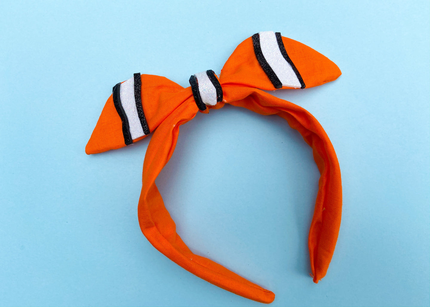 Clownfish Knotted Bow