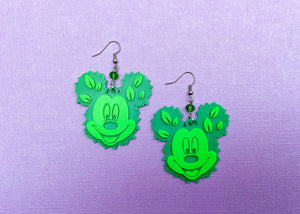 Garden Mouse Earrings