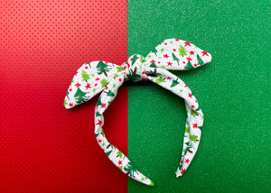 Christmas Tree Knotted Bow