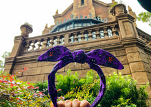 Load image into Gallery viewer, Happy Haunts Knotted Bow