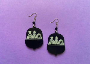 Happy Haunts Earrings (Glow in the Dark)