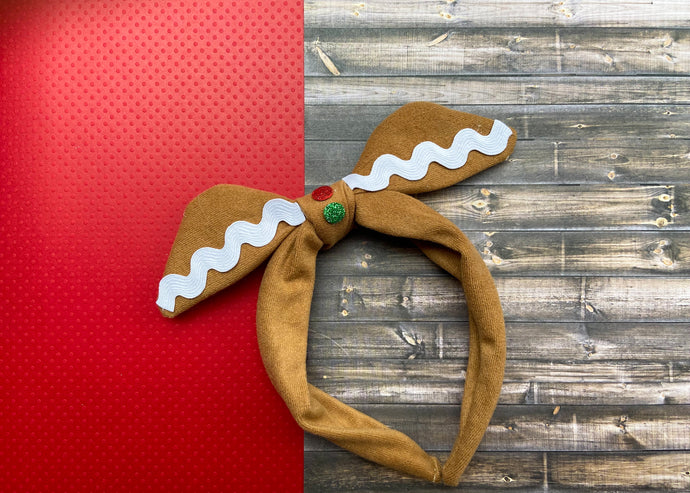 Gingerbread Knotted Bow