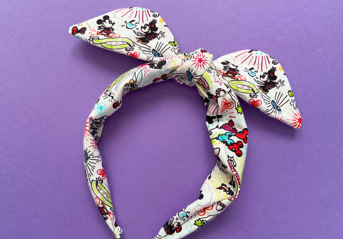 Mouse Party Knotted Bow