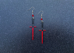 Kylo Saber Earrings