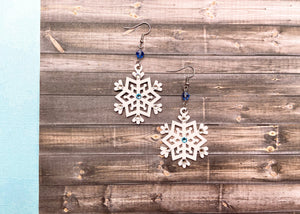 Elsa Snowflake Earrings
