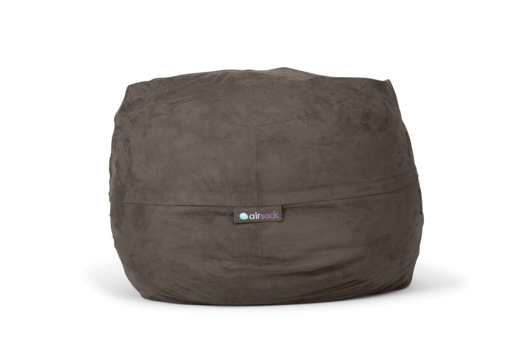 Airsack Original - Large Grey Foam Filled Bean Bag Alternative