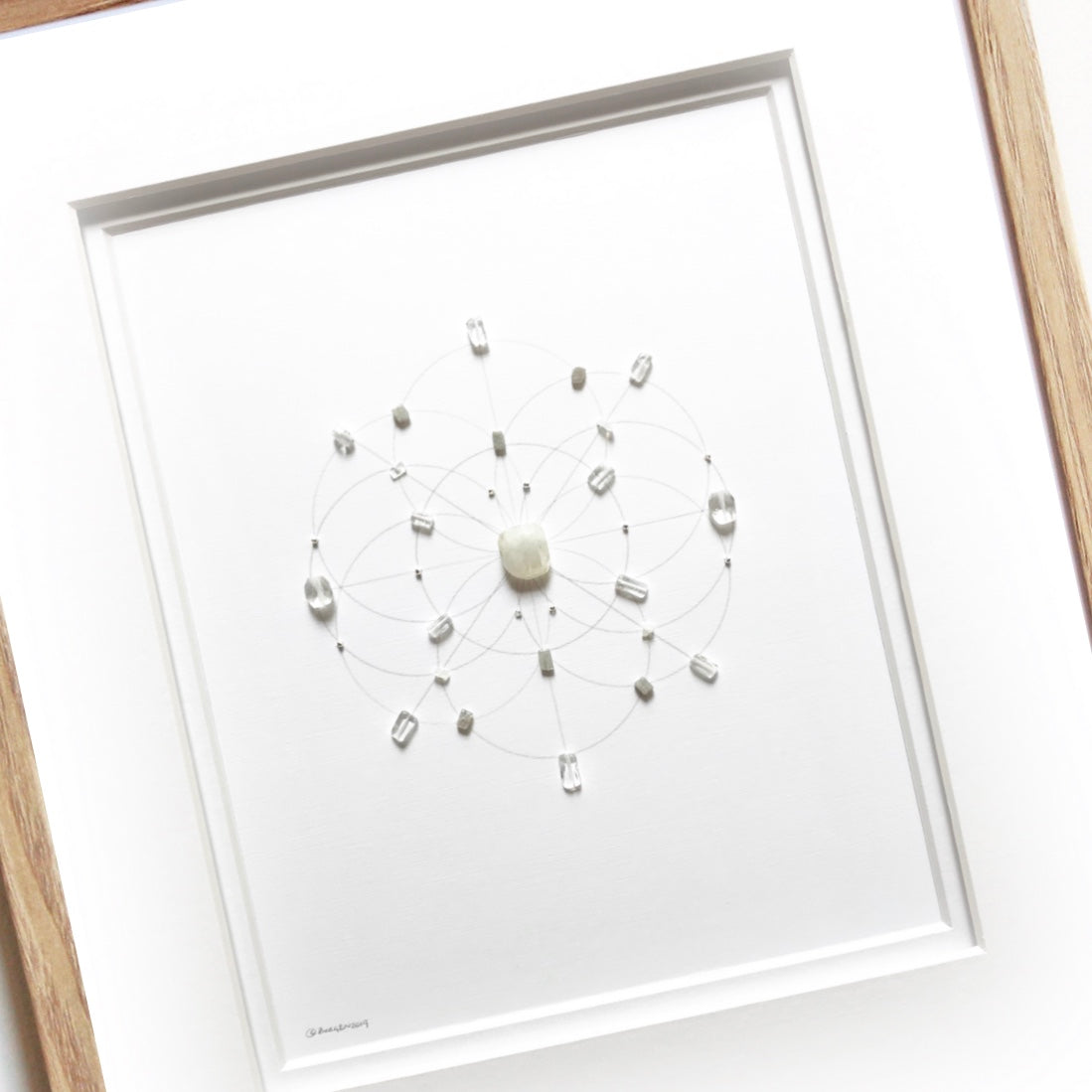 FRAMED CRYSTAL GRIDS