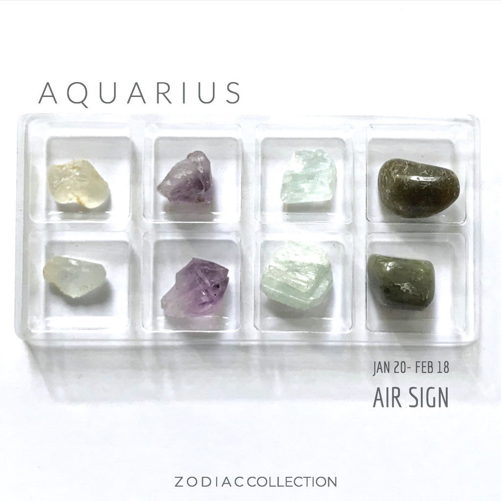 AQUARIUS ZODIAC COLLECTION --- Jan 20 - Feb 18 | Air Sign --- Rox Box