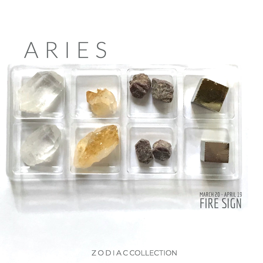 ARIES ZODIAC COLLECTION --- March 20 - April 19 | Fire Sign --- Rox Box