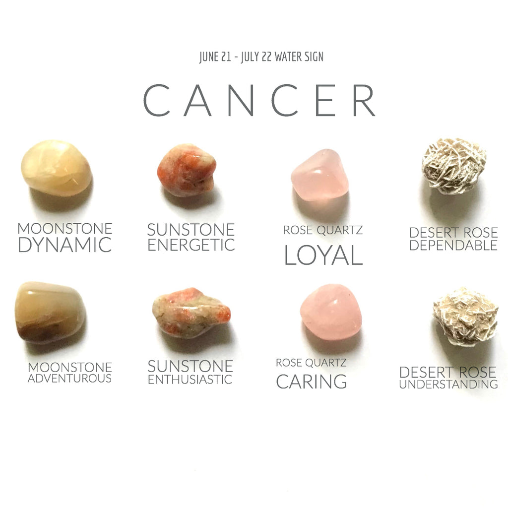 CANCER ZODIAC COLLECTION -- June 21 - July 22 | Water Sign -- Rox Box