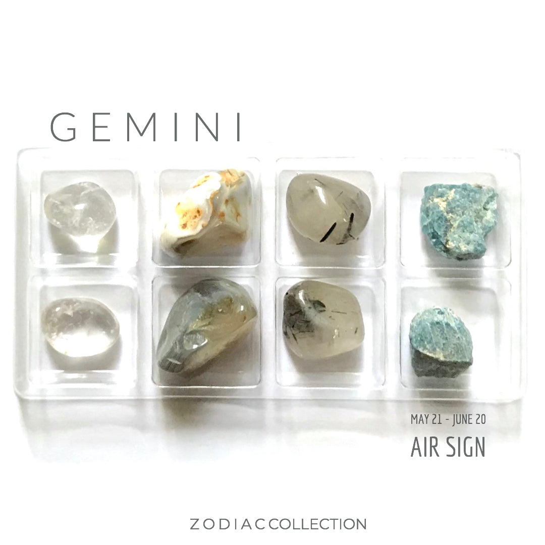 GEMINI ZODIAC COLLECTION -- May 21 - June 20 | Air Sign --- Rox Box